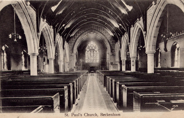 St Paul's Church, Beckenham   Church