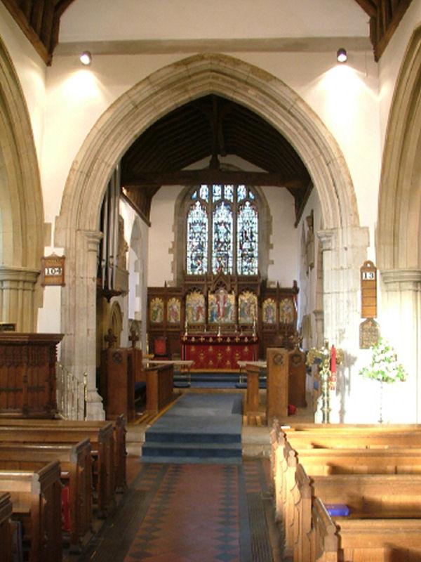 St Mary S Church East Farleigh Kent