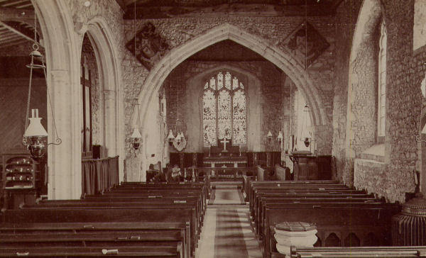 St Mary And St Ethelburga's Church, Lyminge  Church